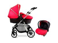 Silvercross Pioneer FULL travel system. All accessories included.