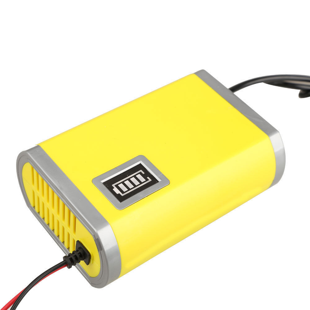 Auto Battery Charger : Led v a car motorcycle smart automatic battery