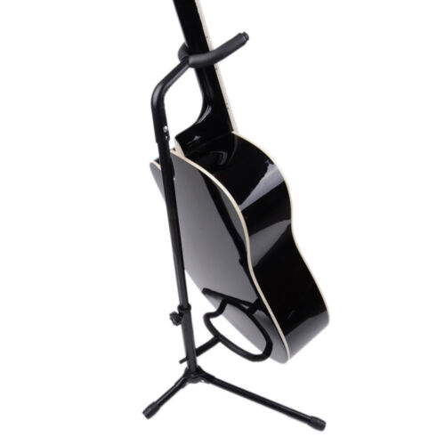 Music Folding Stand Padded for Acoustic Electric Bass Guitar
