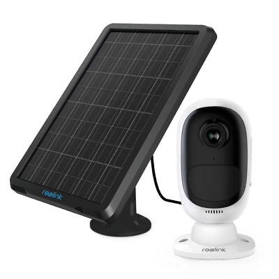 Reolink Kabellos WLAN Kamera Argus 2 Wiederaufladbar HD 1080P + Sonnenkollektor