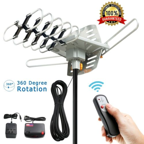 TV Antenna Vansky Outdoor Amplified Digital HDTV Antenna 150