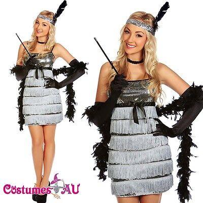 20s 1920s Charleston Flapper Fancy Dress Costume Halloween Cigarette Holder ()
