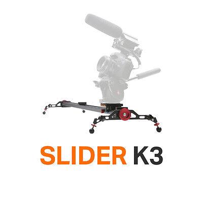 """Konova Slider K3 100cm(39.4"""") add tool change motorized timelapse pan tilt"""