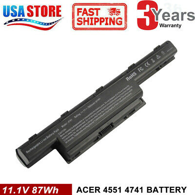 6/9 Cell Battery for Acer Aspire 4741G 5253 5251 5336 5349 5551 5552 5733Z