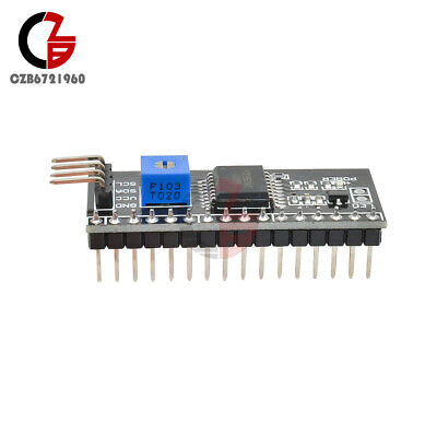 2pcs Iici2ctwispi Serial Interface Board Module Port For Arduino 1602lcd