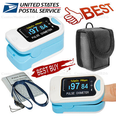 Digital Finger Pulse Oximeter Spo2 Pulse Heart Rate Monitor Blood Oxygen Sensor