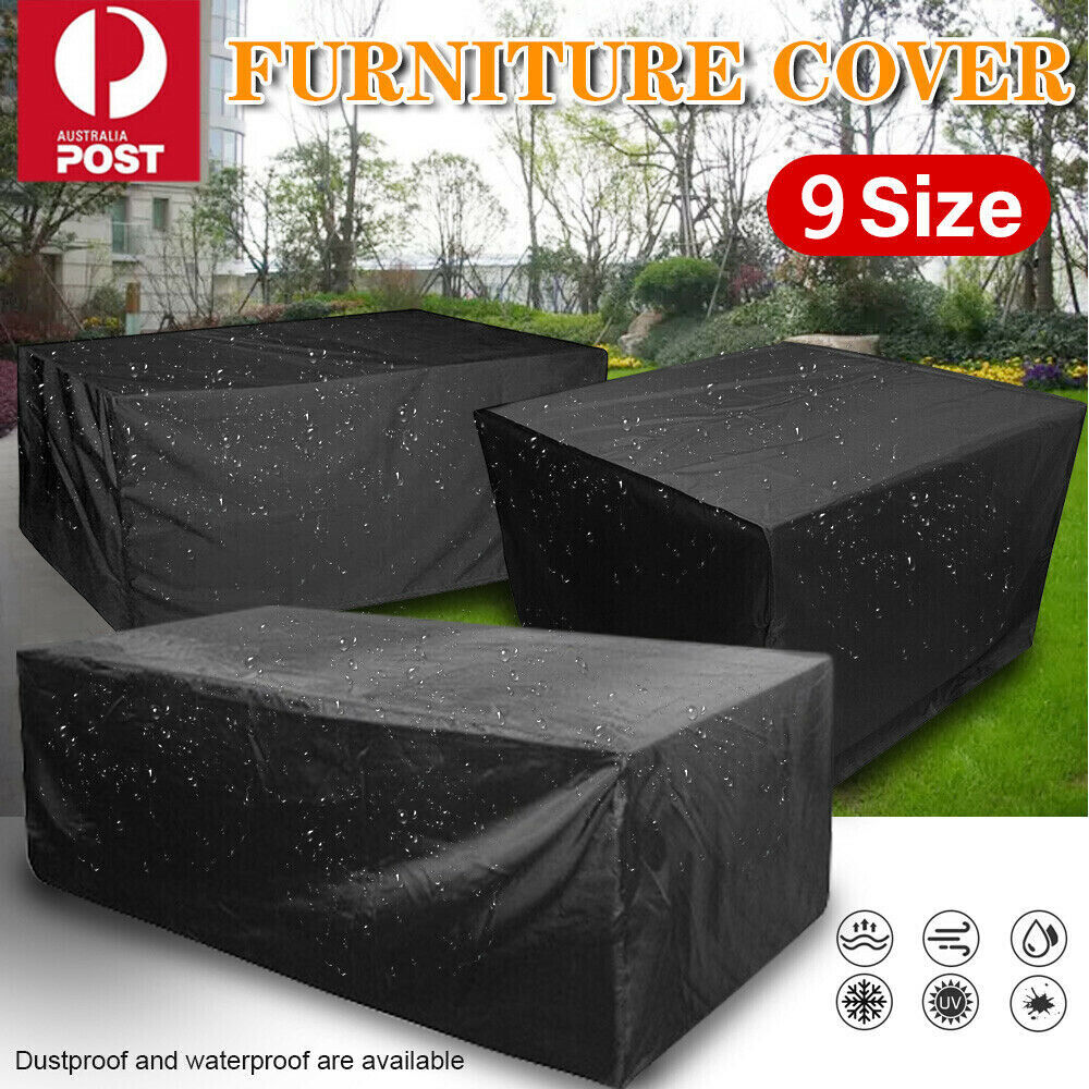 Garden Furniture - Outdoor Furniture Cover UV Waterproof Garden Patio Table Chair Shelter Protector