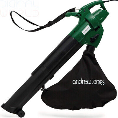 Andrew James Leaf Blower and Vacuum Mulcher | Electric 4KG Lightweight...