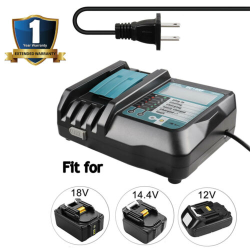 For Makita DC18RC Fast Lithium-Ion Battery Charger 14.4-18V BL1815 BL1840 BL1830