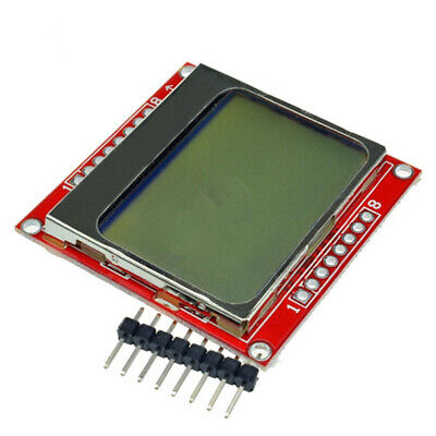 8448 Lcd Module White Backlight Adapter Pcb For Nokia 5110 Arduino