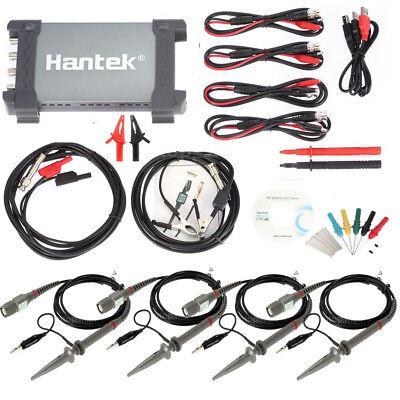 6074be Hantek Diagnostic Tool Usb 1gsas 70mhz Car Auto Digital Oscilloscope 4ch