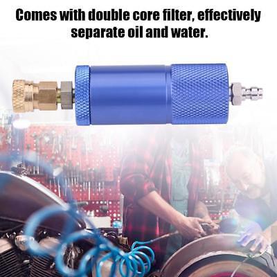 Blue Oil-water Separator 40mpa High Pressure Air Filter For Air Pump Air Tank