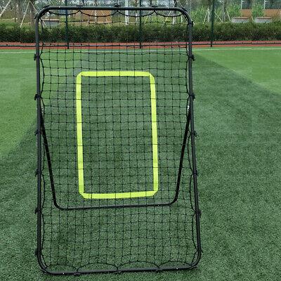 Professional Galvanized Steel Pipe Rebound Soccer/Baseball Goal W/ Net -