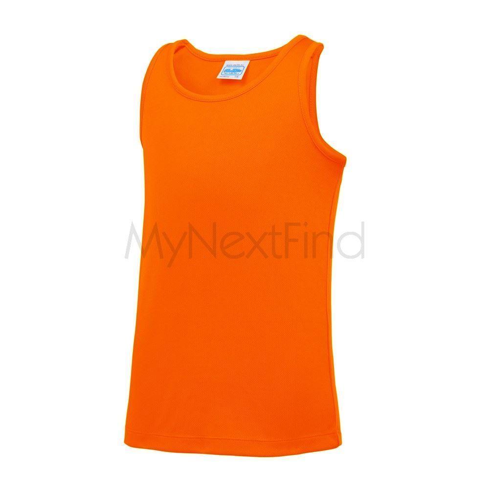 Kids Vests Kids Cool Vest Awdis Vest Gym Top Workout Vest Boys /& Girls JC07J