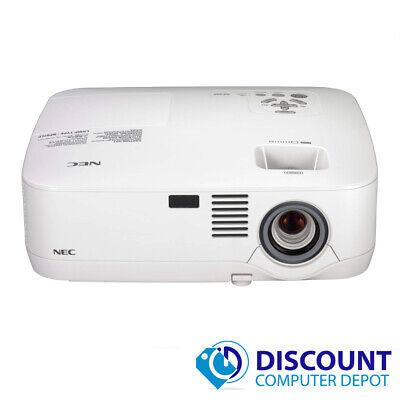 NEC NP400 Portable 3LCD Projector XGA DVI 2600 Lumens 1024 x 768 240 Hours