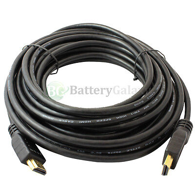 3FT 6FT 10FT 15FT 25FT 50FT Lot HDMI PREMIUM CABLE For BLURAY DVD HDTV TV 1080P