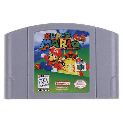 Super Mario 64 Game Nintendo 64 Cartridge N64 Video Game Console Card Us Version