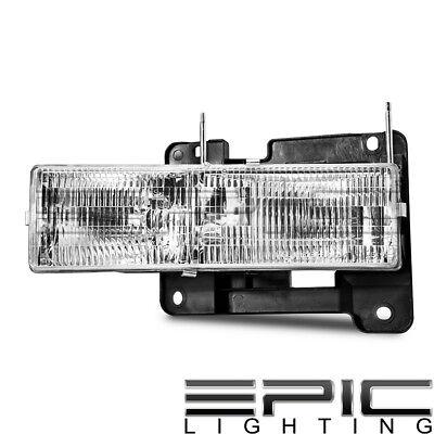 (Headlight for 1990-2002 GMC PICKUP TRUCK C1500 K1500 - Right Passenger Side RH)