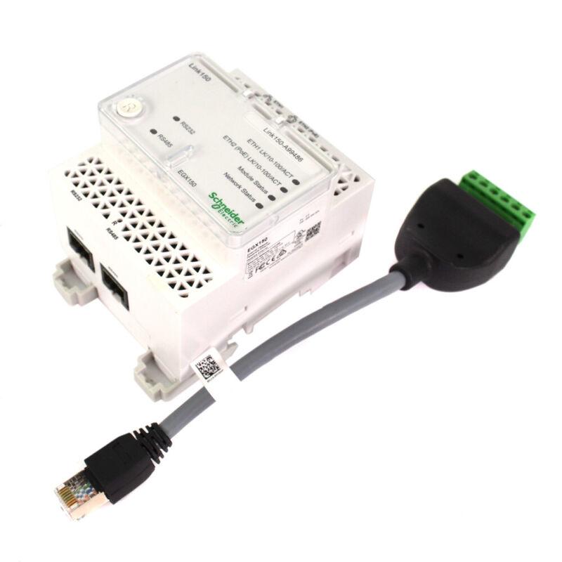 Schneider Electric EGX150 Link150 Ethernet Gateway - 2 Ethernetport 24VDC PoE