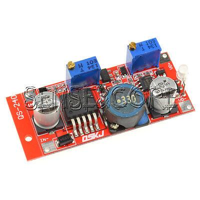 LM2596 DC-DC Step-down Adjustable CC/CV Power Supply Module Converter LED Driver Drive Power Converter
