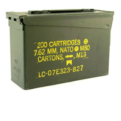*Grade A* .30 cal Ammo Cans FREE SHIPPING!!!