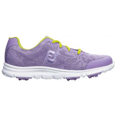 FootJoy Girls enJoy Spikeless Golf Shoes - Lavender