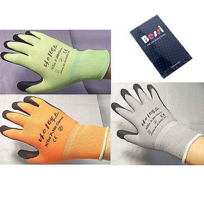 """(made in korea)""""flat price"""" NITEX Nitrile Foam coated gloves safety gloves 1pair"""