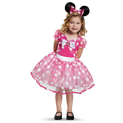 Toddler Deluxe Pink Minnie Mouse Tutu Costume
