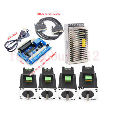 1.8nm Integrate Stepper Motor Nema23 Drive Kitpower Supply5axis Breakout Board