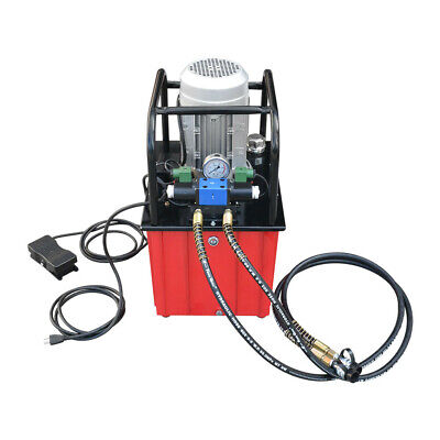 Double Acting 10000 Psi Hydraulic Pump Solenoid Valve 9.5 Gallon 110v Electric