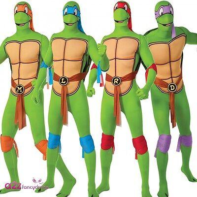 Teenage Mutant Ninja Turtle zweite Haut Erwachsene lizenzierte (Turtle Kostüme)