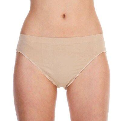Nude High Cut (SILKY GIRLS DANCE Seamless Ballet High Cut Briefs Underwear Knickers Nude Flesh )