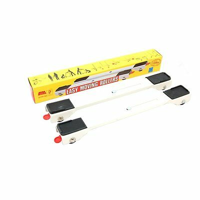 Heavy Appliance Wheels Mobility Roller Trolley Arms Pair