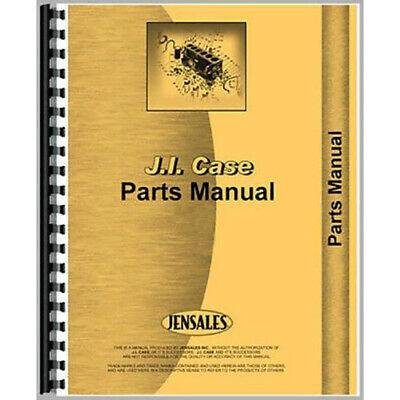 Aftermarket Parts Manual Fits Case Tractor Dc4
