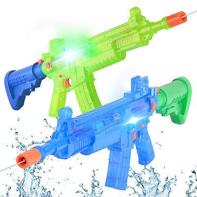 deAO Super Soaker Toy Water Blaster Battery Powered Water Gun
