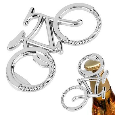 Bicycle Keychain Gift Bottle Cute Beer Metal Opener Fashionable Bike Shaped