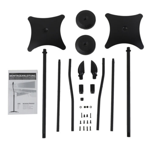 Universal Surround Sound Speaker Stands Set Of 2 Satellite S