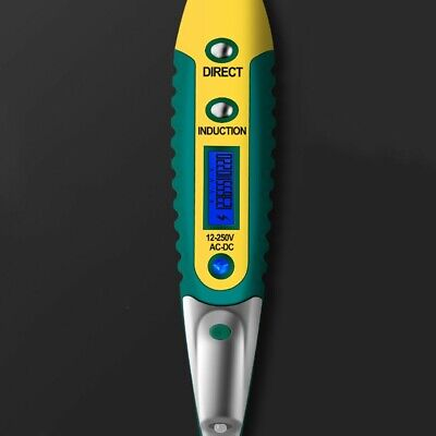 Acdc 12-250v Electric Tester Indicator Voltage Detector Screwdriver Test Pen