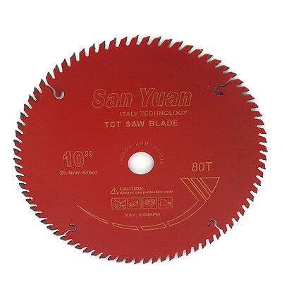 10 Inch Table Circular Saw Blades For Wood Carbide Tipped Hole 25.4mm 80 Teeth for sale  Shipping to Canada