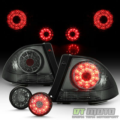 For Smoke 2001-2005 Lexus IS300 Lumiled LED Tail Lights+LED Inner Trunk Lamp - Is300 04 Tail Light Lamp