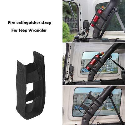 Fire Extinguisher Holder Adjustable Mount Strap For Jeep Wrangler Jk Jl Tj Cj Yj