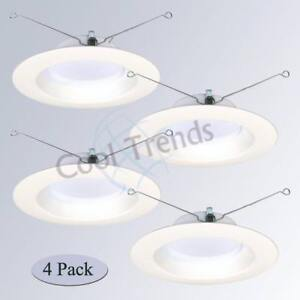 """LED Retrofit Downlight 110-130V 5""""/6"""" 10W 700Lm 5000K CRI80 Dimmable cUL certified"""