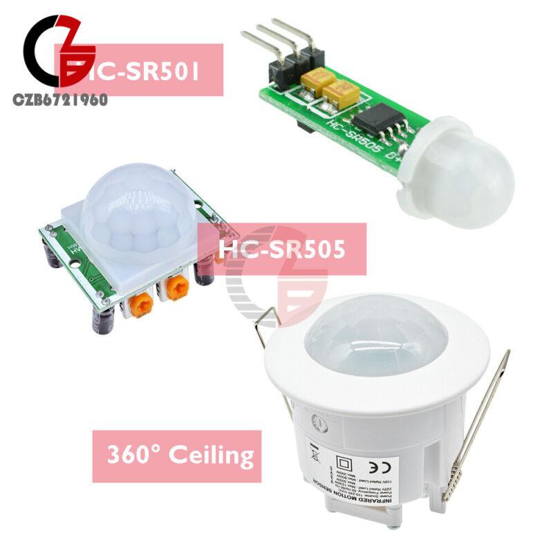 HC-SR501 / HC-SR505 / 360° Ceiling Mini PIR Motion Sensor Infrared Body Detector
