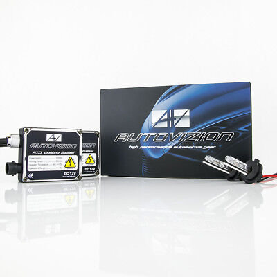 (Autovizion SS Series H7 6000K Diamond White HID Xenon Kit Fog Light 35 Watts)
