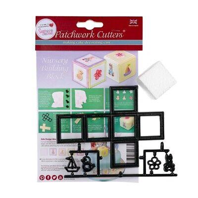 Patchwork Cutters Nursery Bouwstenen Styro Block Cross Cutter Mixed Tappit