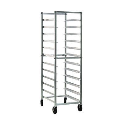 New Age Bun Pan Rack 12 Pan Capacity End Load Aluminum - 26
