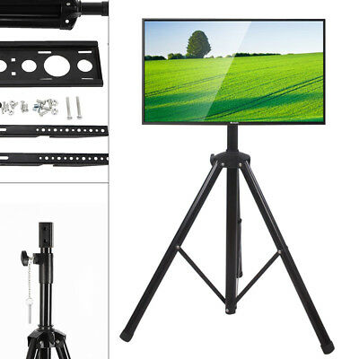 """NEW Portable Tripod TV Stand - Television LCD Flat Panel Monitor Mount 34 to 50"""""""