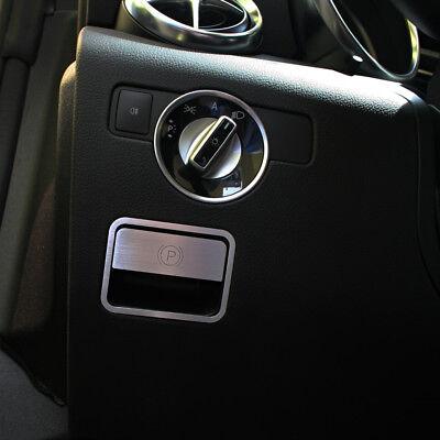 Mercedes Benz SLK R172 280 200 350 55 AMG Brabus Handbremse Alu Blende Logo