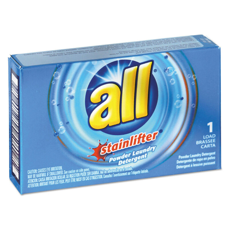 All 2979267 100/Carton 1 Load Ultra HE Powder Laundry Detergent New