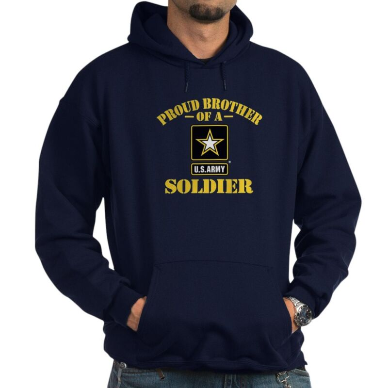 CafePress - Proud Brother U.S. Army - Pullover Hoodie